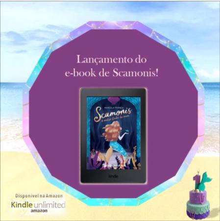 E-book de Scamonis na AMAZON