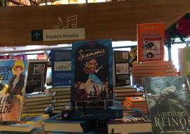 Scamonis nas férias! Livraria da Jaqueira do Recife Antigo