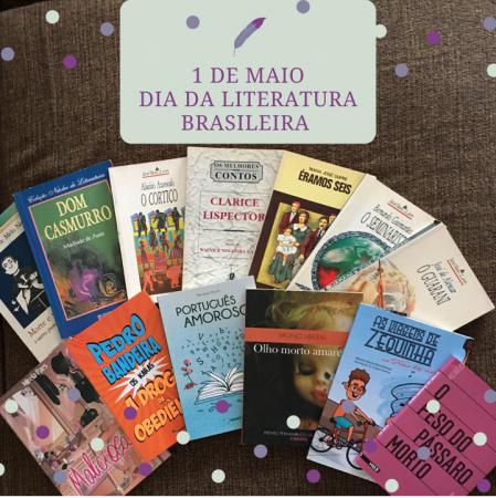 1 de Maio – Dia da Literatura Brasileira