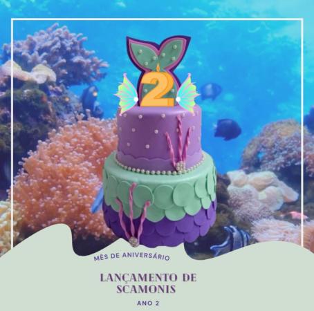 Mês de Aniversário de Scamonis, ANO 2